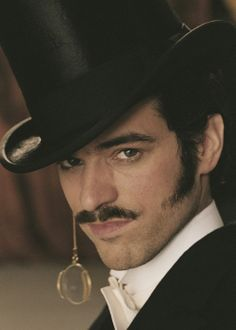 French actor, Romain Duris as Arsène-Lupin