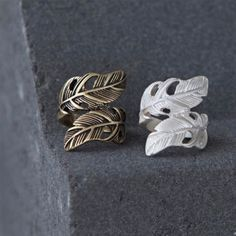Tutti & Co Jewellery Silver Feather Ring £13.50 from www.lizzielane.com http://www.lizzielane.com/product/tutti-co-jewellery-silver-feather-ring/