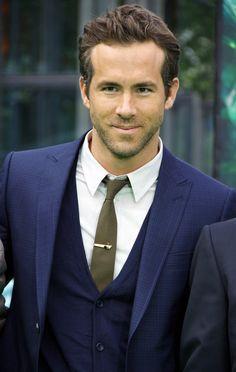 dark blue suit for men.