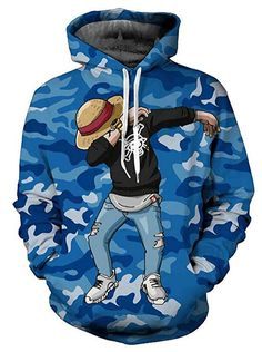 Fall In Love With Our Selection Of One Piece Anime Hoodies!