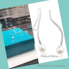 #NoivasVIKX #Noivas #Jewellry #vikx #Joias #Casamento #Earring #Pearls #Diamond #Gold