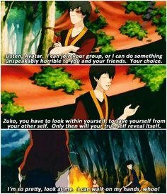 Zuko's impressions.... flawless.