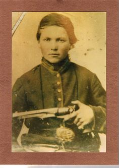 John Harrison Simpson. Enlisted in Co I, 3rd Tennessee Cavalry (Union) in 1863 at age 15. Wounded and captured by Confederates under Nathan Bedford Forrest in 1864 and sent to Cahaba prison. Survived...