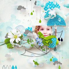 Under my Umbrella by Natali Designs @ scrapbookgraphics