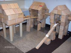Gebouwd door kleuters groep 2