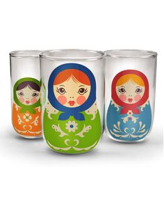Babushka Nesting Cups
