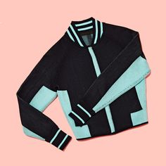 Alexander Wang engineered track-suit bomber jacket.