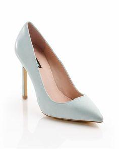 powder blue heels