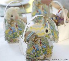 Peter Rabbit Treat Baskets