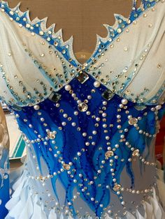 Etsy の Rhythmic Gymnastics Competition Costume SOLD by Savalia