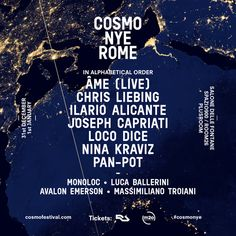 Âme (Live), Monoloc (Live), Avalon Emerson & Luca Ballerini Complete Cosmo NYE Lineup: Returning for a second consecutive year following an…