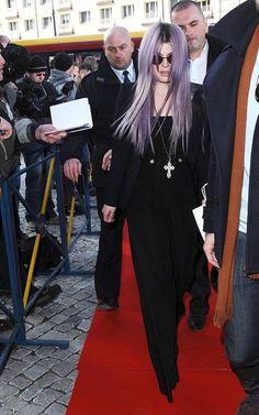 Cumpliendo con algunos deberes promocionales, Kelly Osbourne asistió a una conferencia de prensa en Polonia.