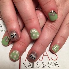 Pin for Later: 10 Sloth-Inspired Manicures That Are Equally Quirky and Delightful