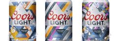 Solar ray-activated photochromic ink cans from Coors Light will be on sale in Canada throughout the summer months. Coors Light, Dose, Product Launch, Beer Cans, Canning, Thoughts, Google Search, Style, Beer