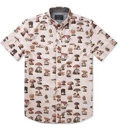 i love ugly. Mushroom Short Sleeve Shirt
