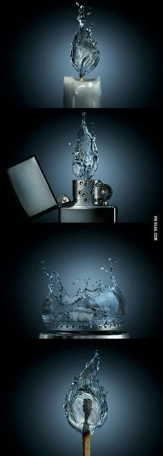 If Fire looked like Water