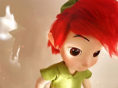 Peter Pan custom doll~