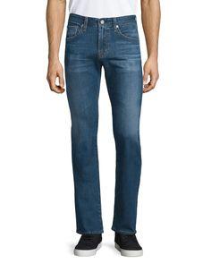 Matchbox Medium Blue Denim Jeans, Thornbush - AG Adriano Goldschmied