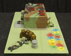 Pin Paintball Birthday Cake Innovations Llc On Pinterest