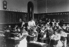 This week, most kids in the United States are returning to school after the summer break—and they're probably not thrilled about going back. But taking a look at what American schools were like in the 1800s might convince them how much tougher it could be—and just how good they've got it.