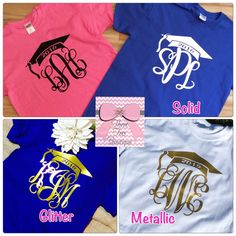 Absolutely Adorable t-shirt!!! Here at Three Tees we have a saying....If its not Monogram is it Yours? We all know monogram is a girls best
