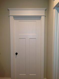 Window And Door Trim Ideas diy simple craftsman shaker window door trim by the diy mommy Modest Interior Door Color Ideas With Picture Of Interior Door Minimalist On Design