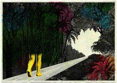 Illustrations by Chloé Poizat.  Artists on tumblr