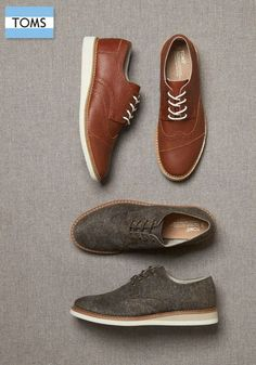 TOMS men's shoes showcase a bold sense of style and a sweet sense of giving.