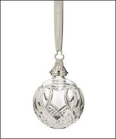 Waterford Christmas Ornament, 2011 Times Square Ball by Waterford, http://www.amazon.com/dp/B003OEZYB4/ref=cm_sw_r_pi_dp_PZfpsb1357CPE