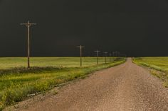 © Eric Meola / Tornado Alley / Before the Storm. Wyoming