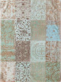 Vintage Kelim tapijt Sea Blue 8006