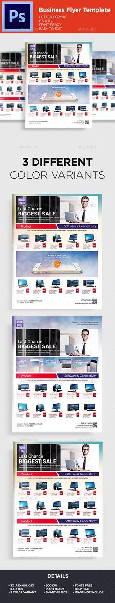 Sale Catalouge Product Flyer Template