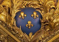 Fleur de Lis from a ceiling in Versailles