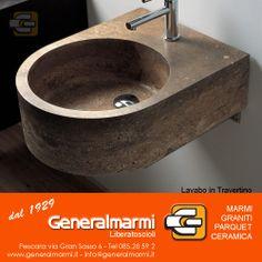 I lavabi in travertino rappresentano sempre più nell'arredo di una casa l'elemento di design d'eccellenza perché uniscono l'aspetto pratico e funzionale alla valenza estetica.  Generalmarmi