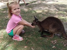Ballarat Wildlife Park was awesome. It's mostly of the places these days where you can communicate with the Kangaroos,