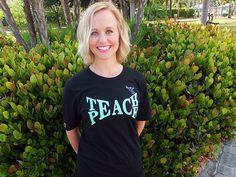 Unisex - Teach Peace Bamboo Tee