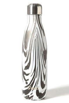 S'well 25oz. Water Bottle in Noir Zebra