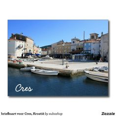 briefkaart voor Cres, Kroatië