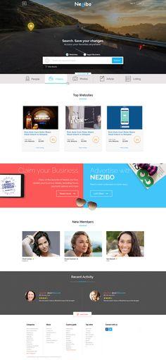 website design for Web directory