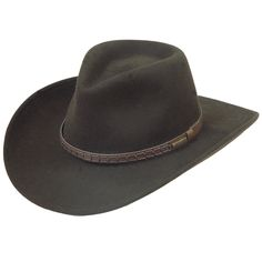 Stetson Sturgis Crushable Wool Hat- Gotta have the right hat! This is my hat...