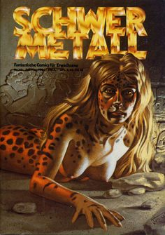 Cover for Schwermetall #13 (Volksverlag, Februar 1981) #13