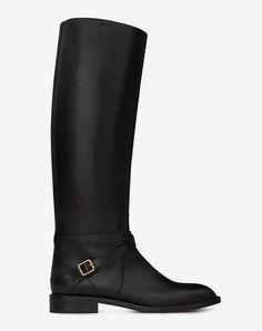 Saint laurent flat boots $1645
