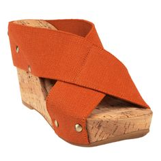 Lucky Brand Miller Linen Strap Wedge Shoes -very comfy!  I want them in Navy!