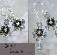 Sinta - Crystal Earrings and or Pendant