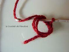 le Crochet de Pandore: Tuto Cercle Magique Crochet Basics, Diy Crochet, Crochet Stitches, Crochet Patterns, Diy Hacks, Crochet Necklace, Knitting, Creative, Mars 2017