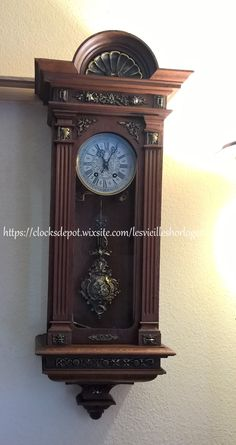 antique wall clock Lenzkirch #712