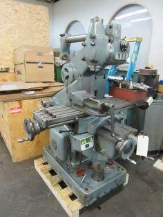 Abene Horizontal / Vertical Milling Machine, Model VHF-3, Well Equipped