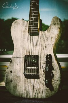 Custom reclaimed pine Tele Esquire [7.3 lbs] :: new neck & assembly