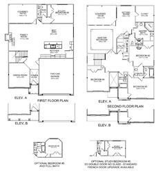 Ball Homes Albany Plan. I've been inside one with the french door flex room option and liked it. Pros: MBR closet door not in bathroom Study = school storage Folding area in laundry room Cons: Wis Kitchen Sink Decor, Kitchen Table Bench, Kitchen Layout, Kitchen Tips, Interior Design Tips, Interior Design Kitchen, Master Bath Layout, Sims Stories, Rustic French Country