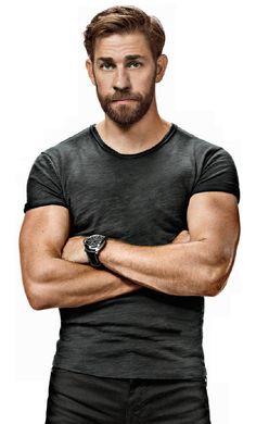 John Krasinskis beard #handsome #hot #sexy #celebrity #hunk
